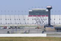 The main grandstand at Nashville Superspeedway