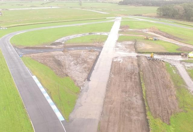 Pembrey Circuit building for the future with exciting new track developments