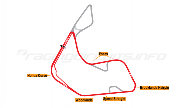 Map of Pembrey, Short circuit 2017 to date