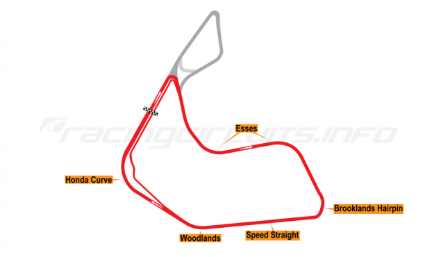 Map of Pembrey, Short circuit 2006-16