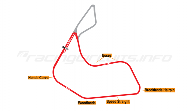 Map of Pembrey, Short circuit 1989-95