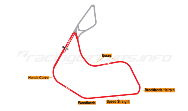 Map of Pembrey, Short circuit 1996-2005