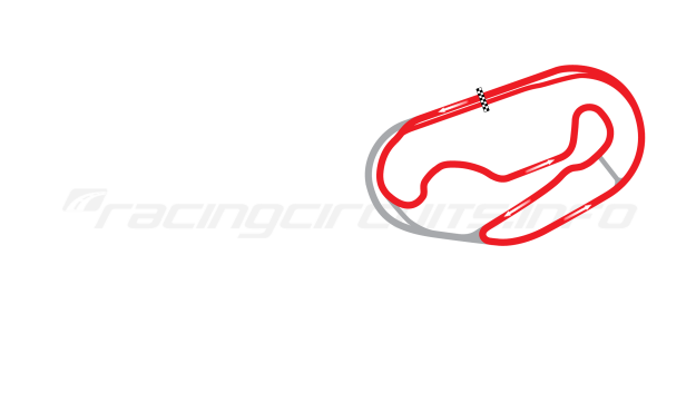 Map of Phoenix International Raceway, Road course 1991-2011