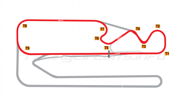 Map of Posadas, Circuit 2 2007-10