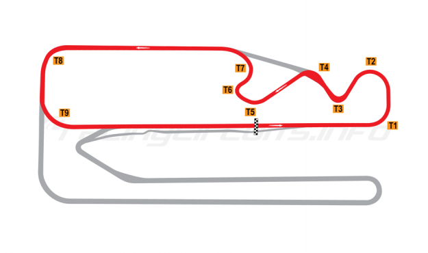 Map of Posadas, Circuit 2 2011-14