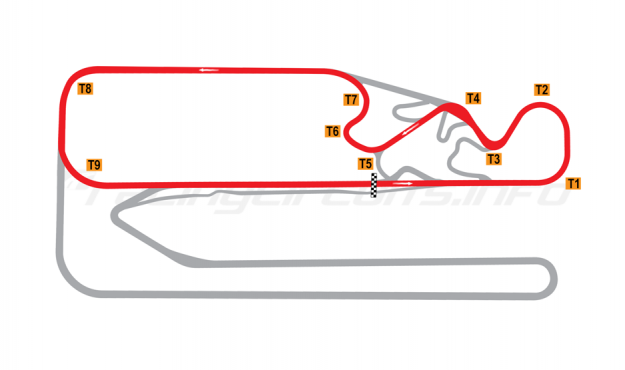 Map of Posadas, Circuit 2 2015 to date