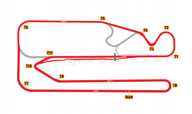 Map of Posadas, Circuit 1 2007-10