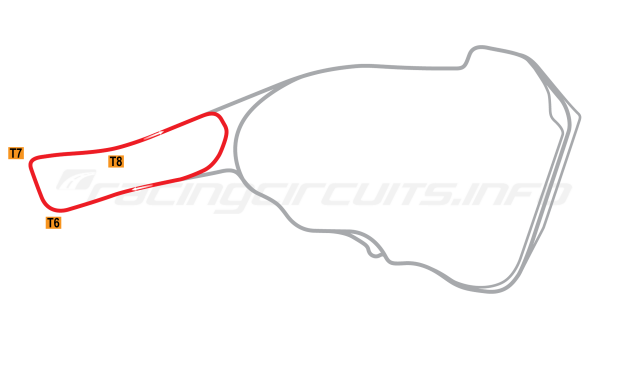 Map of Road Atlanta, Club Course 2003-2007