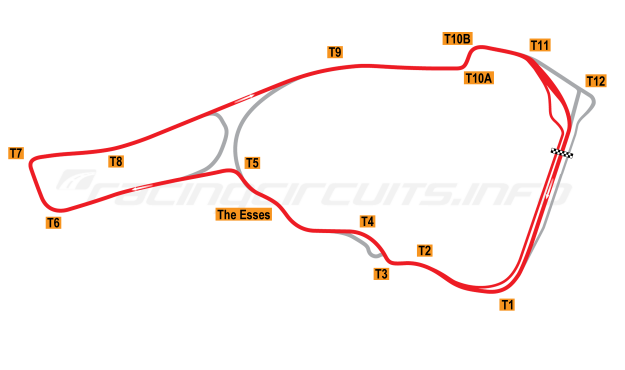 Map of Road Atlanta, 2017 to date