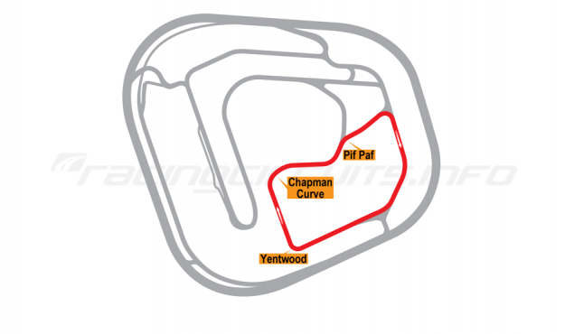 Map of Rockingham, Lake Circuit 2001-18