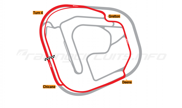 Map of Rockingham, Link Road Circuit 2001-18