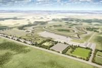 An artist's impression of the proposed Rockyview Motorsports Park