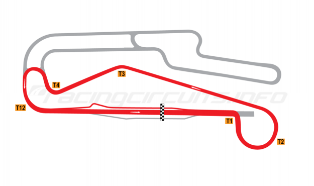 Map of Rustavi, B circuit 2012 to date