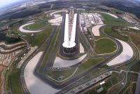 Helicopter veiw of Sepang International Circuit