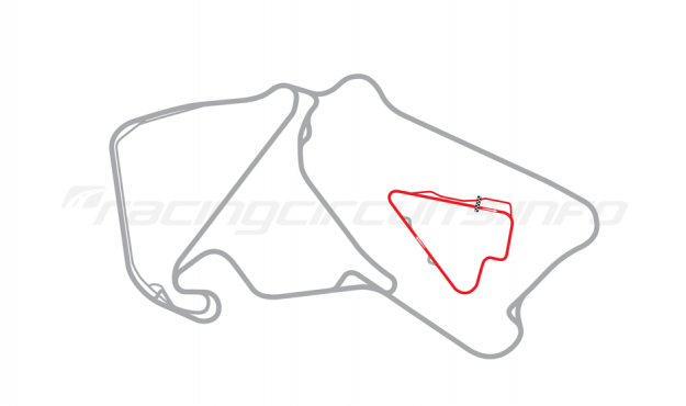 Map of Silverstone, Stowe Circuit 2003-09