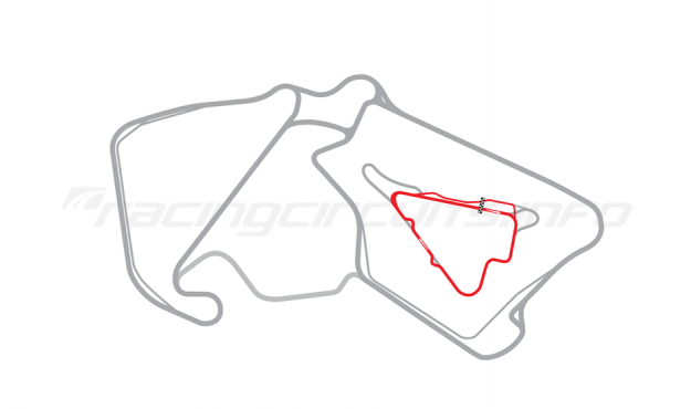 Map of Silverstone, Stowe Circuit 2010