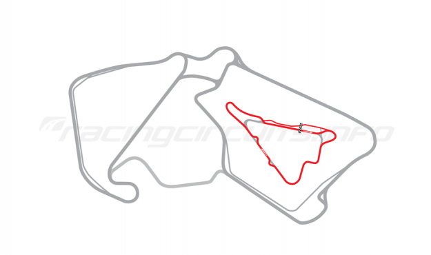 Map of Silverstone, Stowe Long Circuit 2010
