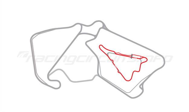 Map of Silverstone, Stowe Long Circuit 2011 to date