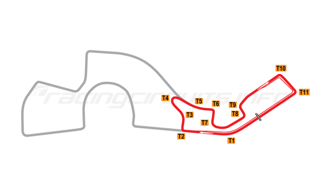 Map of Sochi, Permanent Circuit 2014 to date