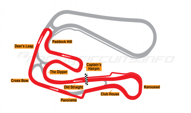 Map of Sturup, Short Circuit 1 with chicane 2005-06
