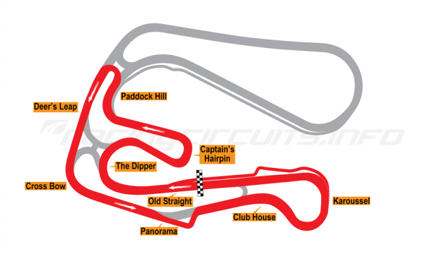 Map of Sturup, Short Circuit 1 with chicane 2007 to date