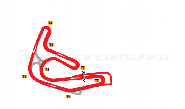 Map of Sturup, Full circuit 1990-2003