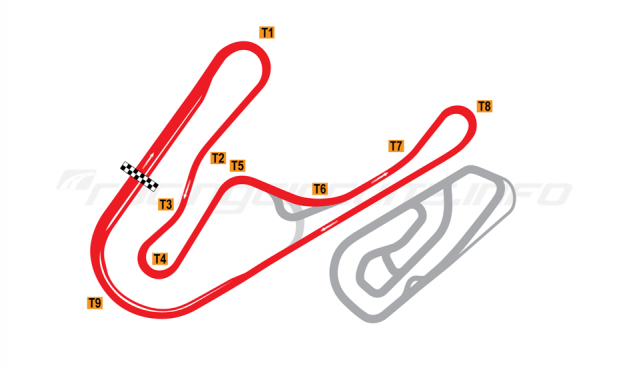 Map of Tsukuba, 2000 Course 2001 to date