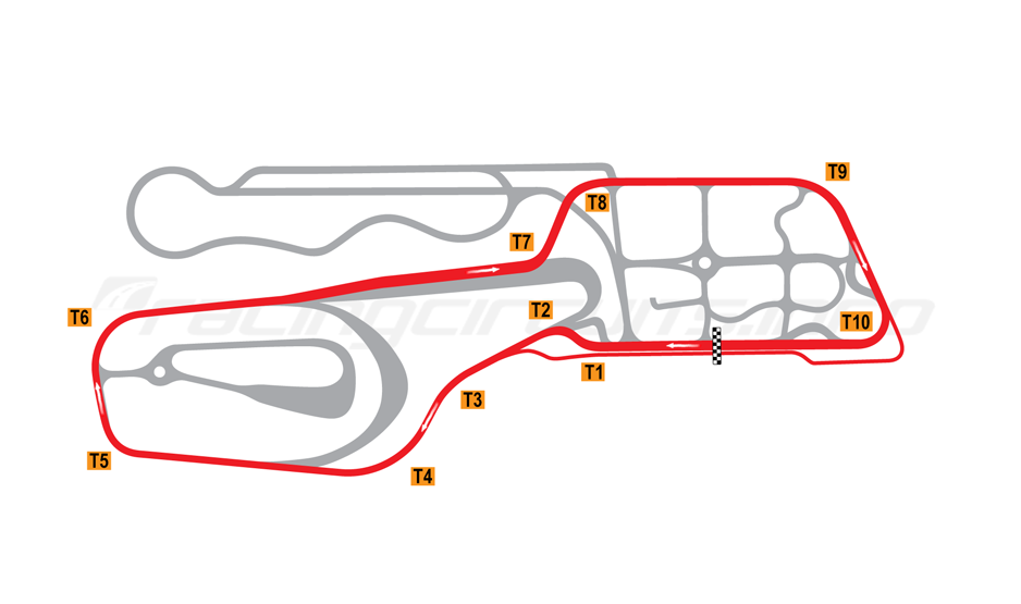 Valerbanen Circuit Map