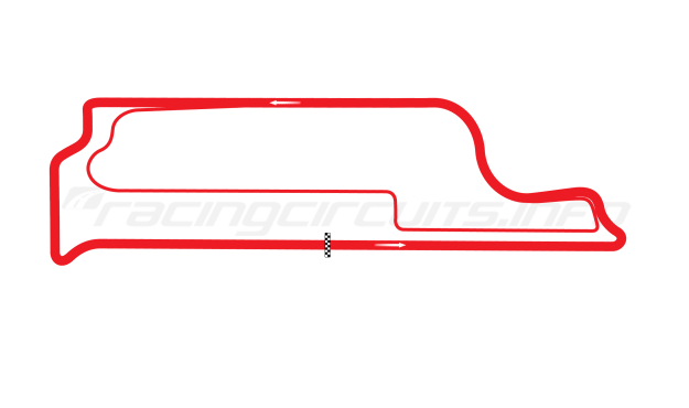 Map of Velopark, Velopark - original test circuit 2010 to date