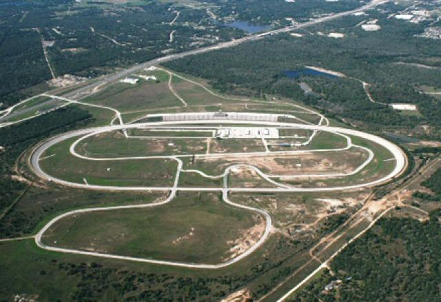 Texas World Speedway aerial view