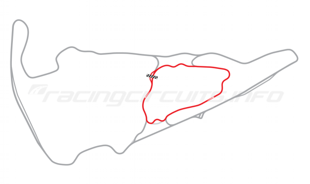Map of Virgina International Raceway, Patriot Course 2003-07