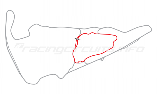 Map of Virgina International Raceway, Patriot Course 2008-13