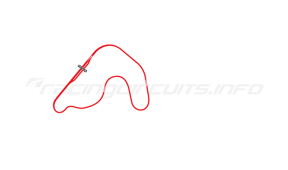 Map of featured circuit